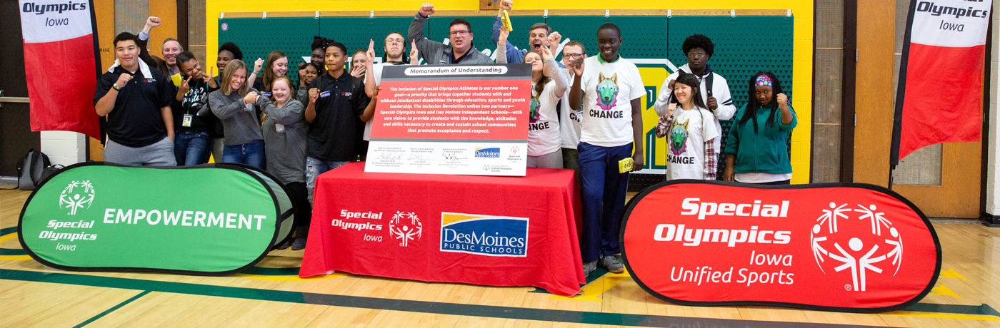 The Inclusion Revolution: DMPS and Special Olympics