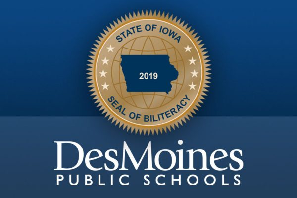 Five Huskies Are First at DMPS to Earn Iowa Seal of Biliteracy