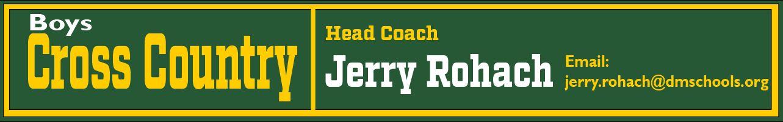 B Cross Country Coach Info