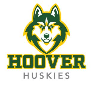 Husky Head w Hoover Huskies Below
