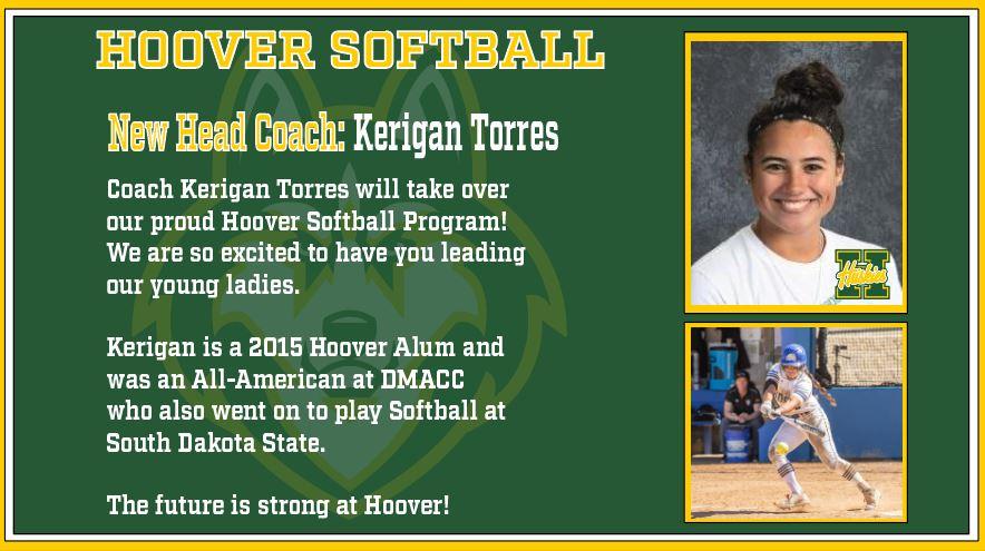 Kerigan Torres Softball Coach