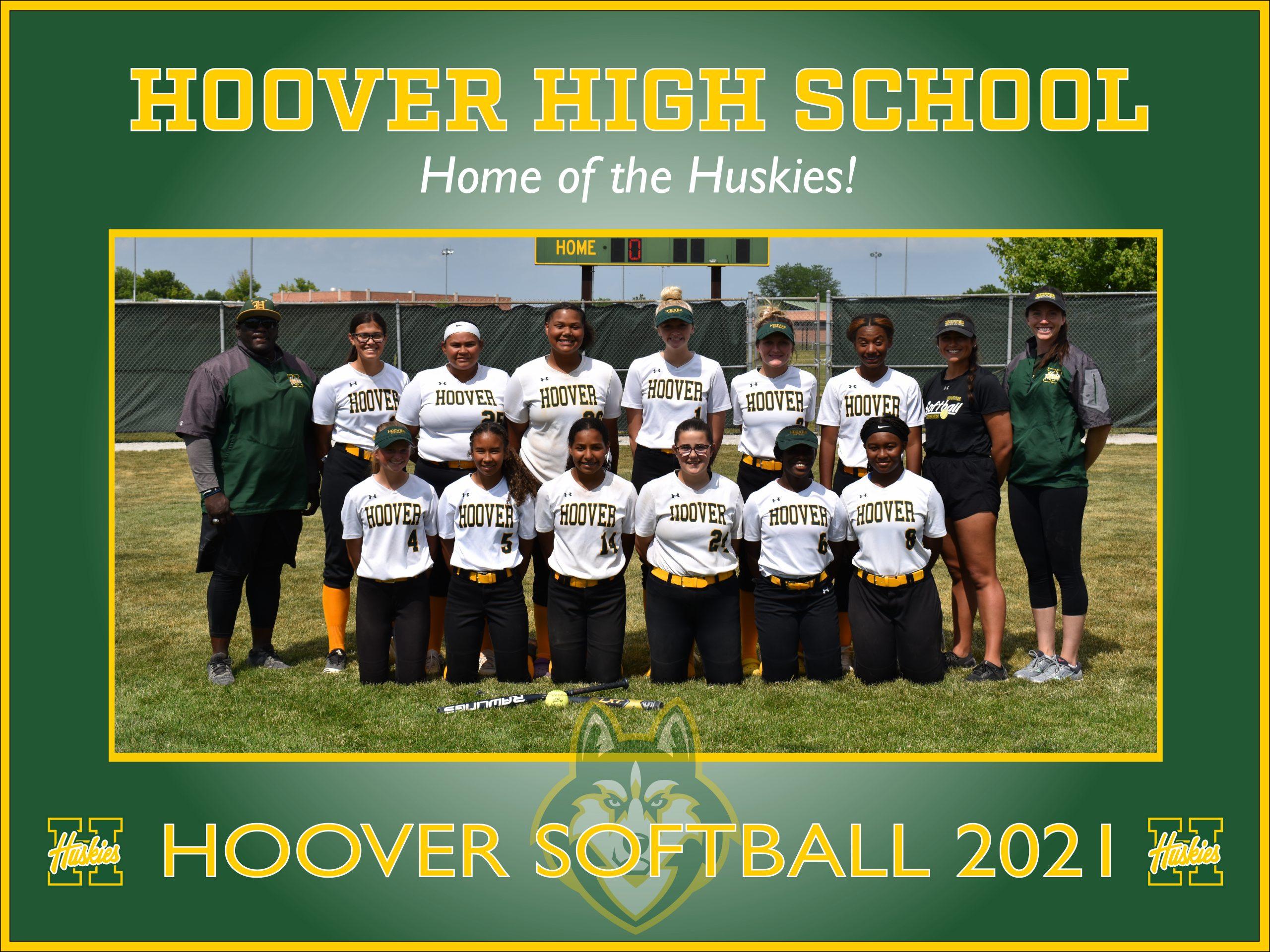 Hoover Softball Poster 2021